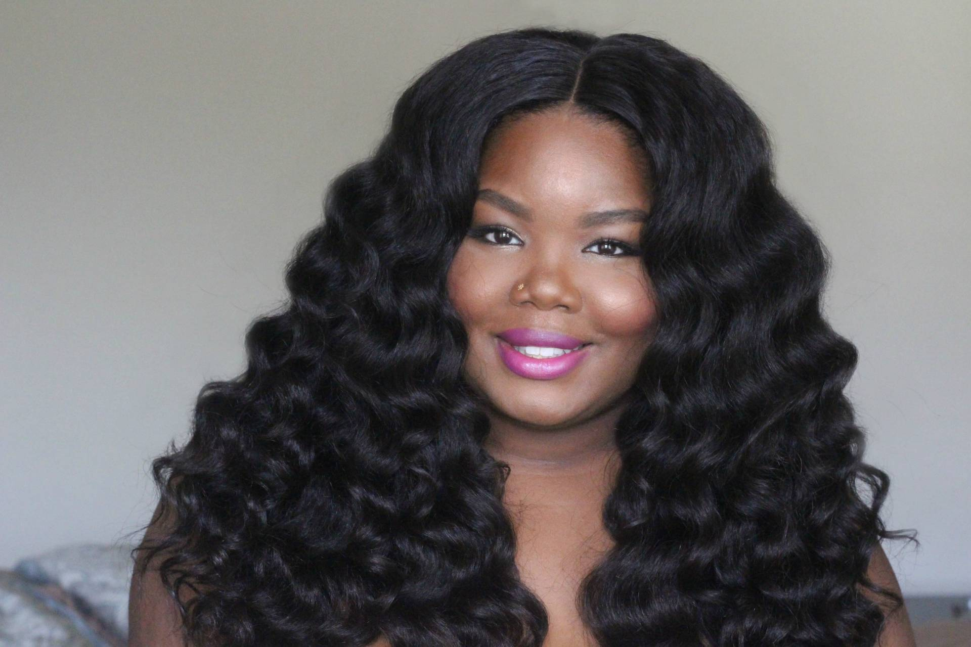 How I Apply My Lace Closure Wig