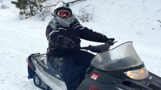 What Happen When I Went Snowmobiling For The First Time