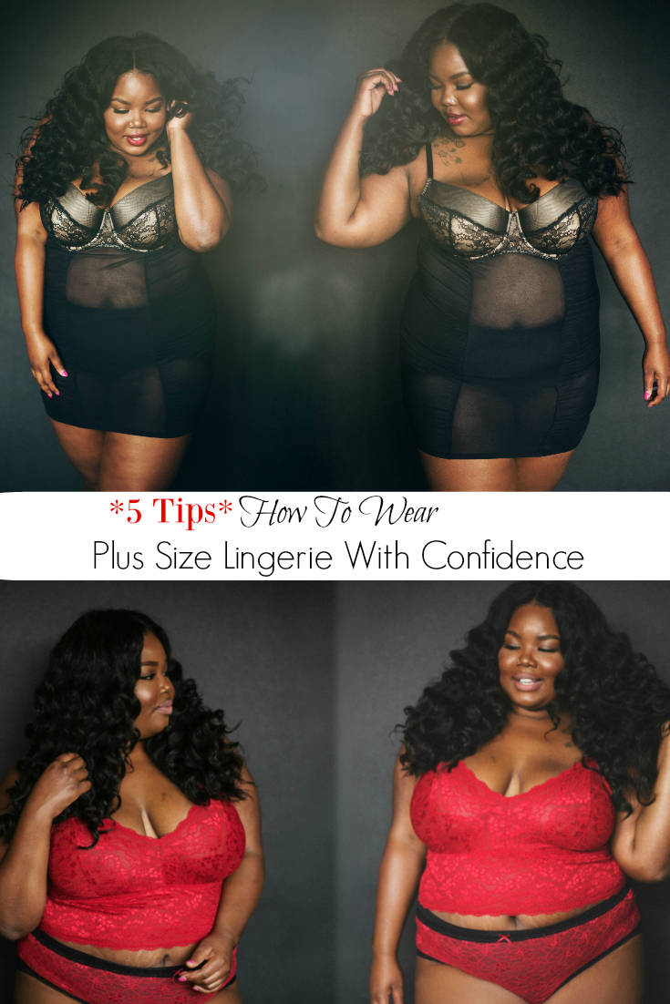 How To Wear Plus Size Lingerie With Confidence